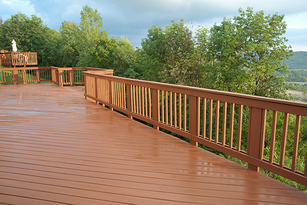 Stained Deck